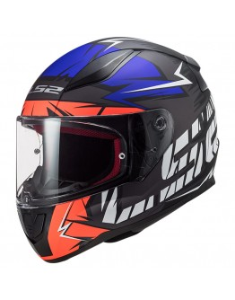 LS2 FF353 Rapid Chromo Matt Fluo Orange Blue