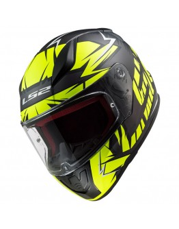 LS2 FF353 Rapid Chromo Matt Black HV Yellow