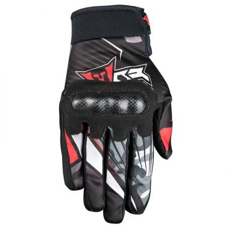 Fovos Atlas MX Γάντια Black/Red