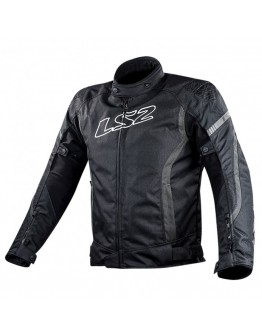 LS2 Gate Jacket Black/Dark Grey
