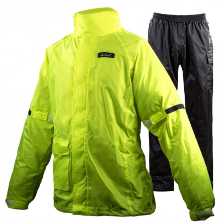 LS2 Tonic Rain Suit Black/Yellow