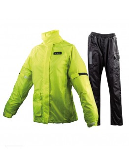 LS2 Tonic Lady Rain Suit Black/Yellow