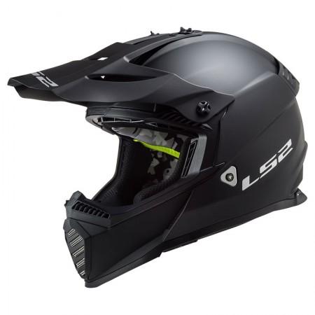 LS2 MX437 Evo Matt Black