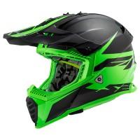 LS2 MX437 Evo Roar Matt Black Green