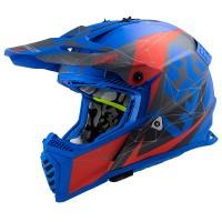 LS2 MX437 Evo Alpha Matt Blue
