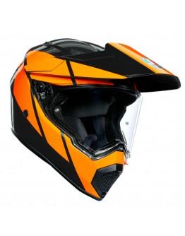 AGV AX9 Trail Gunmetal/Orange