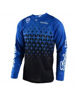 TLD MX Μπλούζα SE Air Megaburst Blue