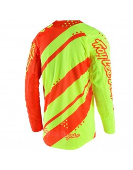 TLD MX Μπλούζα SE Air Shadow Flo Yellow/Orange