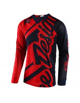 TLD MX Μπλούζα SE Air Shadow Red/Black