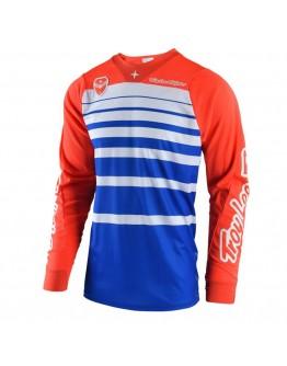 TLD MX Μπλούζα SE Streamline Orange/Blue