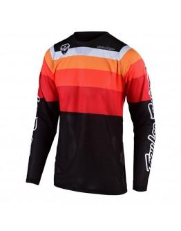 TLD MX Μπλούζα SE Air Spectrum Orange/Black