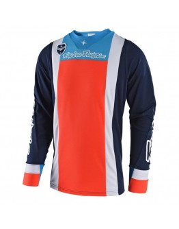 TLD MX Μπλούζα SE Squadra Blue/Orange