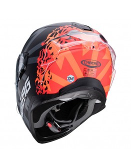 Caberg Drift Evo Storm Matt Black-Red Fluo-Orange Fluo