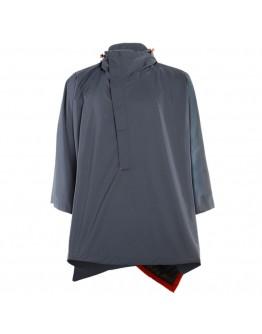 Dainese AWA Black Poncho Jacket Ombre-Blue
