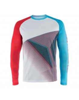 Dainese HG Jersey 3 Limo/Hawai-Ocean/High-Risk-Red