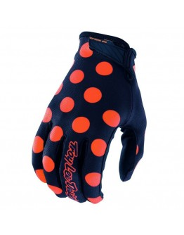 TLD Γάντια Air Polka Dot Navy/Orange