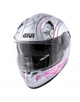 Givi H50.6 Stoccarda Mendhi Silver/Pink