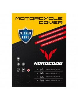 Nordcode Κουκούλα Μοτοσικλέτας Cover Moto Silver Line