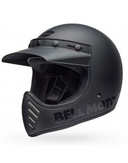 Bell Moto 3 Classic 2019 Black Matt