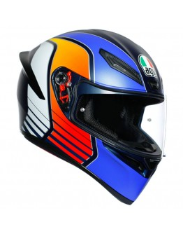 AGV K1 Power Matt Dark Blue/Orange/White