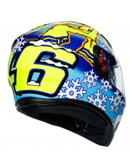AGV K3 SV Top Rossi Winter Test 2016