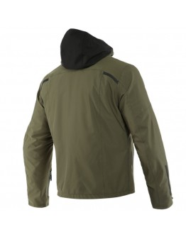 Dainese Mayfair D-Dry Jacket Black/Grape-Leaf/Grape-Leaf