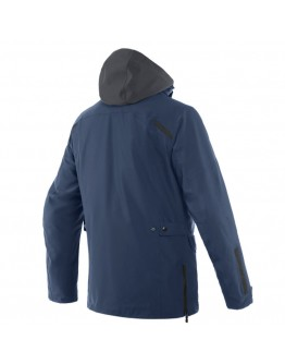 Dainese Milano D-Dry Jacket Ebony/Black-Iris/Black-Iris