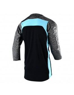TLD MTB Ruckus Block Jersey Heather Grey/Black