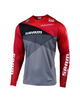 TLD MTB Sprint Jet Jersey Gray/Red