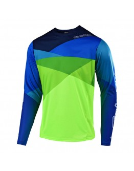 TLD MTB Sprint Jet Jersey Yellow/Green