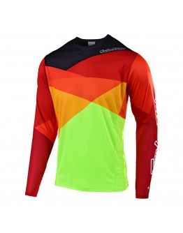 TLD MTB Sprint Jet Jersey Yellow/Orange