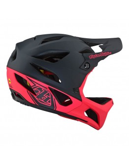 TLD MTB Stage Race Mips Stealth Black/Pink