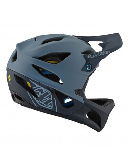 TLD MTB Stage Race Mips Stealth Gray