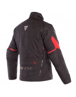 Dainese Tempest 2 D-Dry Jacket Black/Black/Tour-Red