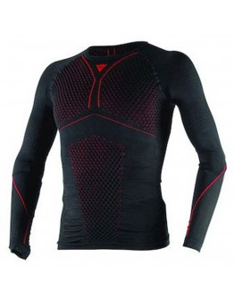 Dainese D-Core Thermo Tee LS Black/Red