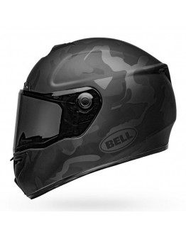 Bell SRT Stealth Matt Black Camo