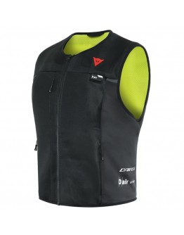 Dainese Smart Jacket D-Air Black/Fluo-Yellow