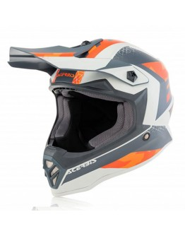 Acerbis Impact Steel Junior Orange/Grey