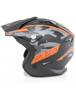 Acerbis Jet Aria Black Orange