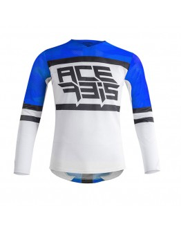 Acerbis MX Μπλούζα Helios Vented Blue/White