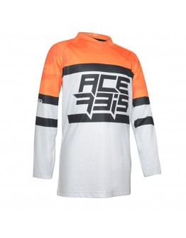 Acerbis MX Μπλούζα Skyhigh Orange/White
