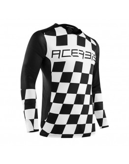 Acerbis MX Μπλούζα Start & Finish Black/White