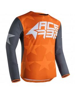 Acerbis MX Μπλούζα X-Flex Starway Orange/Grey
