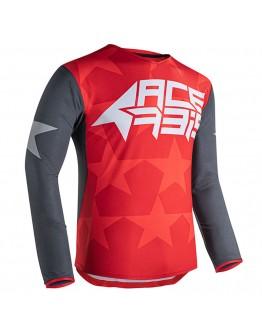 Acerbis MX Μπλούζα X-Flex Starway Grey/Red