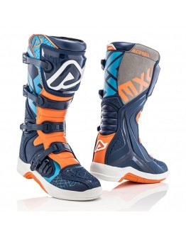 Acerbis Μπότες X-Team Blue/Orange