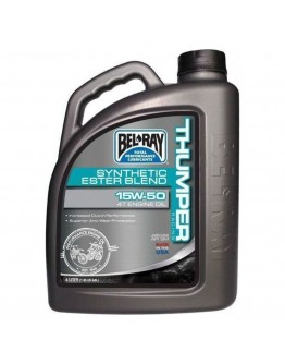 Bel-Ray Thumper Racing Συνθετικό Ester Blend 4T 15W-50 4lt