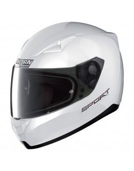 Nolan N60-5 Sport 14 Pure White + Smoke Visor