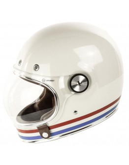 Bell Bullitt DLX Stripes White
