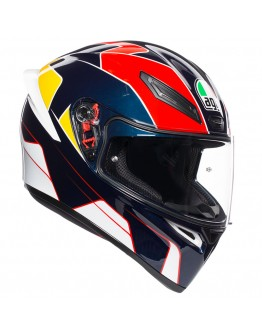 AGV K1 Pitlane Blue/Red/Yellow