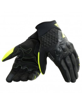 Dainese X-Moto Γάντια Black/Fluo-Yellow